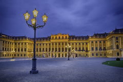 Schonbrunn Palace in Vienna, Austria Stock Photography
