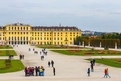 Schonbrunn Palace in Vienna. Austria Stock Photography