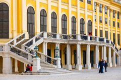 Schonbrunn Palace in Vienna. Austria Royalty Free Stock Images