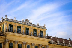 Schonbrunn Palace in Vienna, Austria Stock Photo