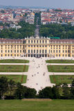 Schonbrunn palace, Vienna, Austria. Stock Photos
