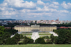 Schonbrunn Palace Vienna Royalty Free Stock Photography