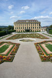 Schonbrunn Palace in Vienna Royalty Free Stock Photo