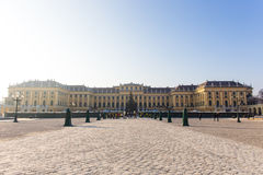 Schonbrunn palace, Vienna. Schonbrunn Palace in the cold of the winter Royalty Free Stock Photo