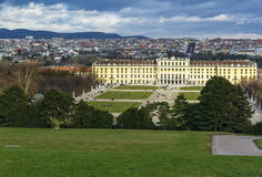 Schonbrunn Palace, Vienna Royalty Free Stock Photos
