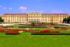 Schonbrunn Palace, Vienna Royalty Free Stock Images