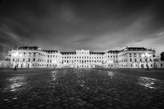 Schonbrunn Palace in Vienna - landmark of Austria Stock Images