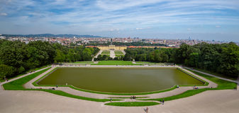 Schonbrunn palace, Vienna Royalty Free Stock Photography