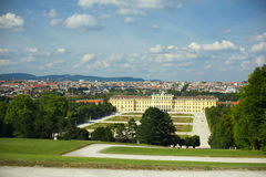 Schonbrunn Palace in Vienna Royalty Free Stock Images