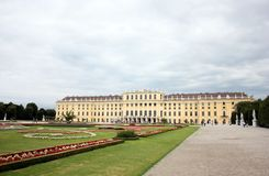Schonbrunn Palace view Royalty Free Stock Photography