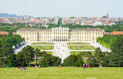 Schonbrunn Palace, Wienna, Austria Royalty Free Stock Images