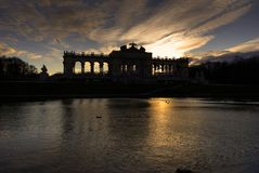 Schonbrunn Palast lizenzfreies stockfoto