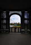 Schonbrunn Palast-Gärten, Wien, Österreich Lizenzfreies Stockbild