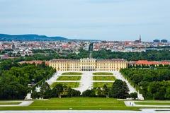 Schonbrunn Palast, Wien, Österreich Stockfotografie
