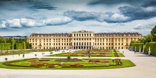 Schonbrunn Palast in Wien, Österreich lizenzfreies stockfoto