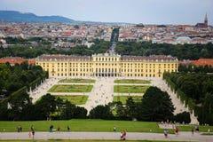 Schonbrunn Palast in Wien, Österreich Lizenzfreie Stockfotografie