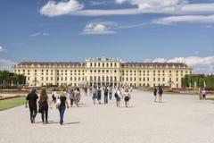 Schonbrunn Palast, Wien, Österreich Lizenzfreies Stockfoto