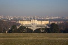 Schonbrunn Palast, Wien Stockbilder