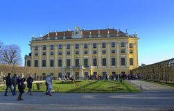 Schonbrunn-Palastgarten Wien, Österreich Lizenzfreie Stockfotografie