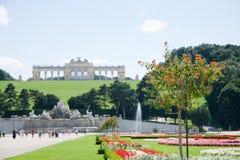 Schonbrunn park Fotografia Royalty Free