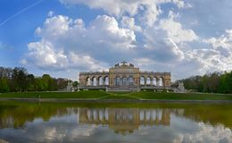 Schonbrunn, Pavilion Glorietta Royalty Free Stock Images