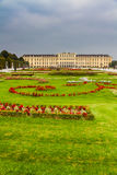 Schonbrunn royal castle and park-Vienna, Austria Royalty Free Stock Photo