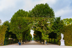 Schonbrunn royal castle park-Vienna, Austria Stock Photography