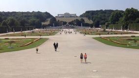 Schonbrunn Sissi Castle-  Vienna, Austria - Europa stock footage