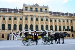 Schonbrunn slott Arkivbilder