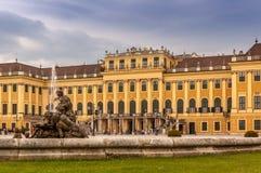 Schonbrunn slott Fotografering för Bildbyråer