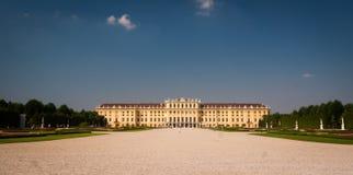 Schonbrunn slott Royaltyfri Fotografi