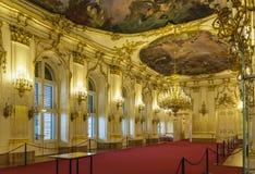 Schonbrunn slott, Wien arkivbild