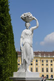 Schonbrunn Statue Royalty Free Stock Photo