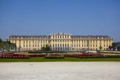 Schonbrunn Viena Imágenes de archivo libres de regalías