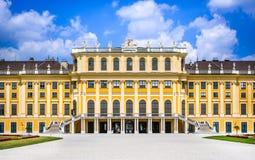 Schonbrunn, Viena, Austria fotografía de archivo