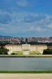 schonbrunn Vienna aus pałacu Obraz Royalty Free