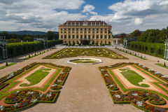 Schonbrunn, Vienna. Austria Stock Photos