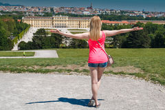 Schonbrunn Royalty Free Stock Photography