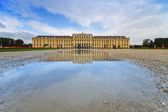 schonbrunn Vienna pałacu. Obraz Royalty Free
