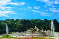 schonbrunn Vienna pałacu Obraz Royalty Free