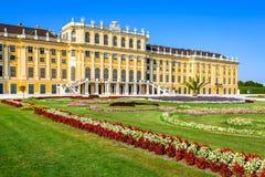 Schonbrunn Wien, Österrike fotografering för bildbyråer