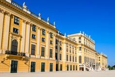 Schonbrunn Wien, Österrike arkivfoto