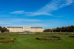 Schonbrunnpaleis op 14 Oktober in Wenen, Stock Foto's