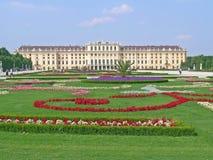 Schonbrunnpaleis in Wenen Royalty-vrije Stock Foto