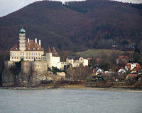 Schonbuhel Castle Stock Photo