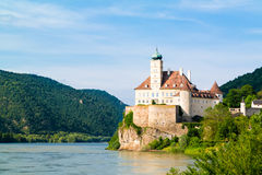Schonbuhel castle and Danube river, Wachau, Austria Royalty Free Stock Photography