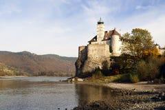Schonbuhel kasztel rzecznym Danube w Austria Fotografia Stock