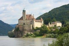 Schonbuhel slott i Österrike Royaltyfri Fotografi