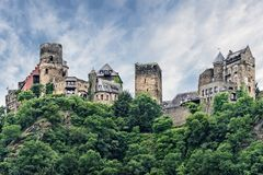 Schonburg Castle in Germany Royalty Free Stock Photography