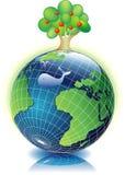 Schone aarde royalty-vrije illustratie